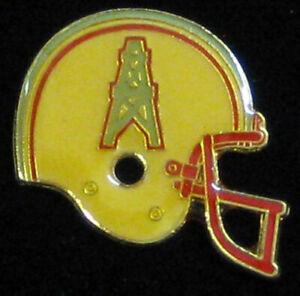 Houston Oilers _VTG 1984 NFL Helmet Logo Metal Enamel Lapel Pin for Hat/Jacket