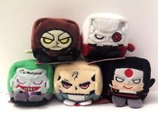 "Lot of 5 DC Suicide Squad 2.5"" Kawaii Cubes Diablo Deadshot Joker Katana Croc"