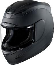 ICON Airmada Full Face Motorcycle Helmet Rubatone (Flat Black) SM / Small