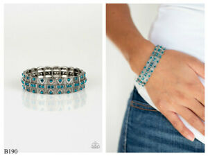 NWT! Paparazzi ~ Modern Magnificence ~ Blue Bracelet