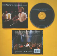 CD Rod Stewart With Special Guest Ronnie Wood Unplugged...And Seated no lp mc 45
