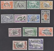 NIGERIA. 1953 Set of 13. MM SG 69-80