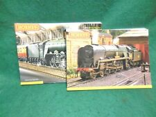 2 Hornby Full Color Train Catalogs. 2006 & 2007. Glossy. Thick.Soft Cover. Mint.