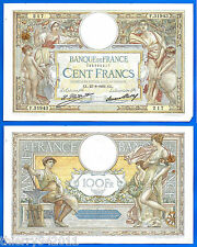 France 100 Francs 1931 27 August Serie F Merson Europe Frcs Frc Free Ship Wrd