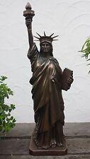 31 cm Freiheitsstatue Statue of Liberty Kolossalstatue USA Figur Amerika bronze