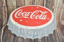 RAR Vintage Coca Cola MR 1343 Lampe Wandlampe 38,5 x 28,5 cm # 7