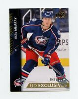 15/16 UPPER DECK UD EXCLUSIVES #310 RYAN MURRAY 047/100 BLUE JACKETS *66333