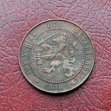 Netherlands 1906 bronze 2½ cents