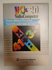 COMMODORE VC-20 / VIC-20 --> TRAINING 4 GRUNDRECHNUNGSARTEN