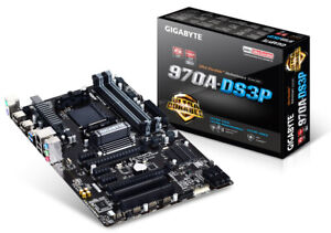 Gigabyte GA-970A-DS3P, AM3+, AMD Motherboard New Unopened
