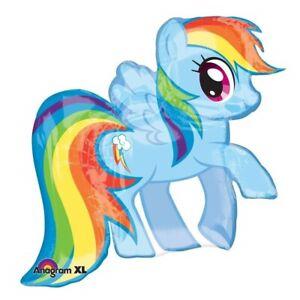 "28"" My Little Pony Rainbow Dash Supershape Mylar Foil Balloon"