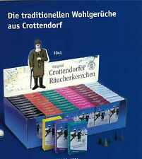 Crottendorfer Räucherkerzen 40 verschiedene Sorten u.Größen XS, M, XL,XXL