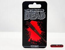 Lucille Walking Dead Soft Enamel Black Nickel Lapel Pin Yesterdays Brand New