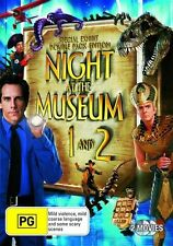 Night At The Museum / Night At The Museum 2 (DVD, 2009, 2-Disc Set)