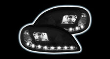 **NEW OUT** CITROEN SAXO BLACK R8 DRL LED PROJECTOR HEAD LIGHTS LAMPS