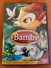 DVD DISNEY BAMBI - 2DVD SPECIAL EDITION (ZUSTAND SEHR GUT)