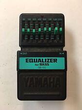 Yamaha GB-100 Graphic Equalizer Bass EQ Rare Vintage Guitar Pedal MIJ Japan