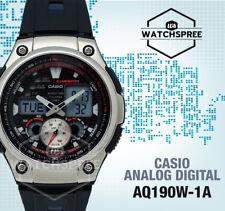 Casio Analog Digital Chronograph Watch AQ190W-1A