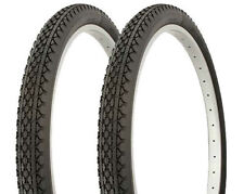 Pair of Duro 26 x 2.125 HEAVY DUTY Diamond Pattern Tires HF-133 Black/Black