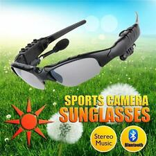 Cool Wireless Bluetooth Sunglasses Headset Headphones Handfree for Cellphones