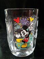 McDonald's Walt Disney World Celebration 2000 Glass Mickey Mouse Magic Kingdom