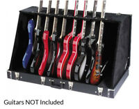 Stagg GDC-8 Guitar Stand Case (Holds 8 Electric or 4 Acoustic Guitars) NEW