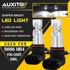 AUXITO 9006 HB4 LED Fog Light Bulb 4M 3000LM For RAM 1500 2500 3500 2013-2015 EA