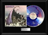 NAZARETH HAIR OF THE DOG  LP WHITE GOLD SILVER  PLATINUM TONE RECORD ALBUM RARE