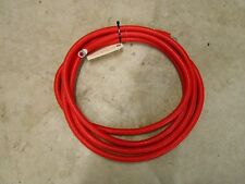 "RF266R1450 2/0 RED BATTERY CABLE 15' 3/8"" ENDS"