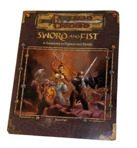 Dungeons & Dragons 3rd Ed d20 Sword and Fist A Guide to Fighters and Monks 11829