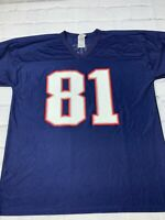 NFL Randy Moss New England Patriots #81 Size XL Football Jersey Collectables