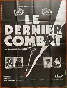 Poster The Last Stand Pierre Jolivet Luc Besson Jean Reno 120x160cm