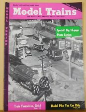 Model Trains 1955 June Model Railroad you can ride Interchange Power for industr