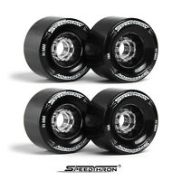 Longboard Rollen 83mm schwarz / Longboard wheels 83 mm black SpeedThron