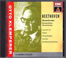 Otto Klemperer Beethoven Lénore 1-3 Fidelio roi Stephan les vais initier du Maison CD