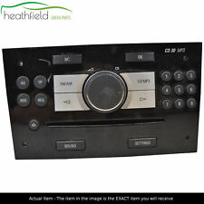 Vauxhall Astra H Zafira B CD/Radio 13255555 CD30 MP3 With AUX Needs DE-Pairing