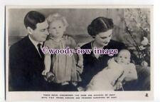 r1702 - Duke & Duchess of Kent & Prince Edward & Princess Alexandra - postcard