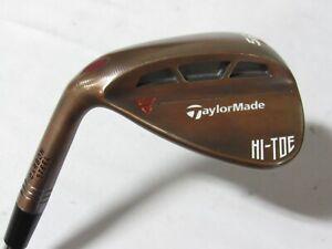 Used LH Taylormade HI-TOE 56.10 Sand Wedge - KBS 120 Stiff S Flex Steel