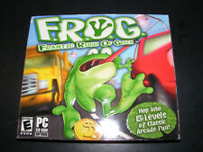 F.R.O.G.: Frantic Rush of Green (PC, 2004) NEW & SEALED Video Game