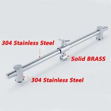 Brass Hand Held Shower Head Bracket Shower Rail Slide Bar Adjustable Sliding