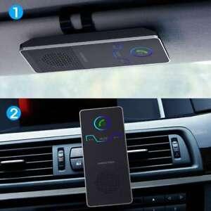 Bluetooth Hands free car kit, sun visor loudest loud speaker magnetic clip