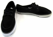 LaCoste Boat Shoes Bateau Lo Canvas Black/White Topsiders Size 10.5