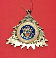 UNITED STATES AIR FORCE CHRISTMAS TREE ORNAMENT PERSONALIZED & SHIP FREE