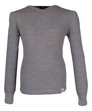 Polo Ralph Lauren Men's Size Medium Grey Textured Long Sleeve Thermal Shirt