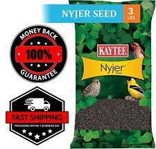 Kaytee Nyjer Thistle Seeds 3 lb Attracting Wild Birds Food Bird Feed Lots New