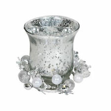 VC742SL Sliver Hurricane Gift set 10.5cm By Village Candle Retail Price £3.99