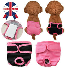 More details for female pet dog pants bitch heat in season menstrual sanitary nappy diaper s-xl