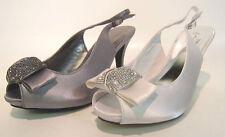 Stiletto Slingbacks Formal Textile Heels for Women