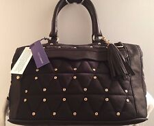 Rebecca Minkoff Quilted Nylon & Leather Full-Size MAB w/Strap - Black NWT $350