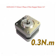Nema 17 42mm 2 Phase 4 Wire Stepper Motor 1.8 Degree 5mm Pulley For  3D Printer